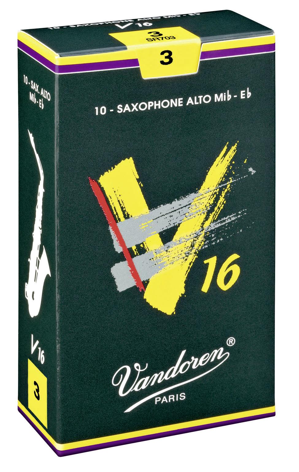 Vandoren V16 Tenorsaxophonblätter Stärke 3  EINZELBLATT